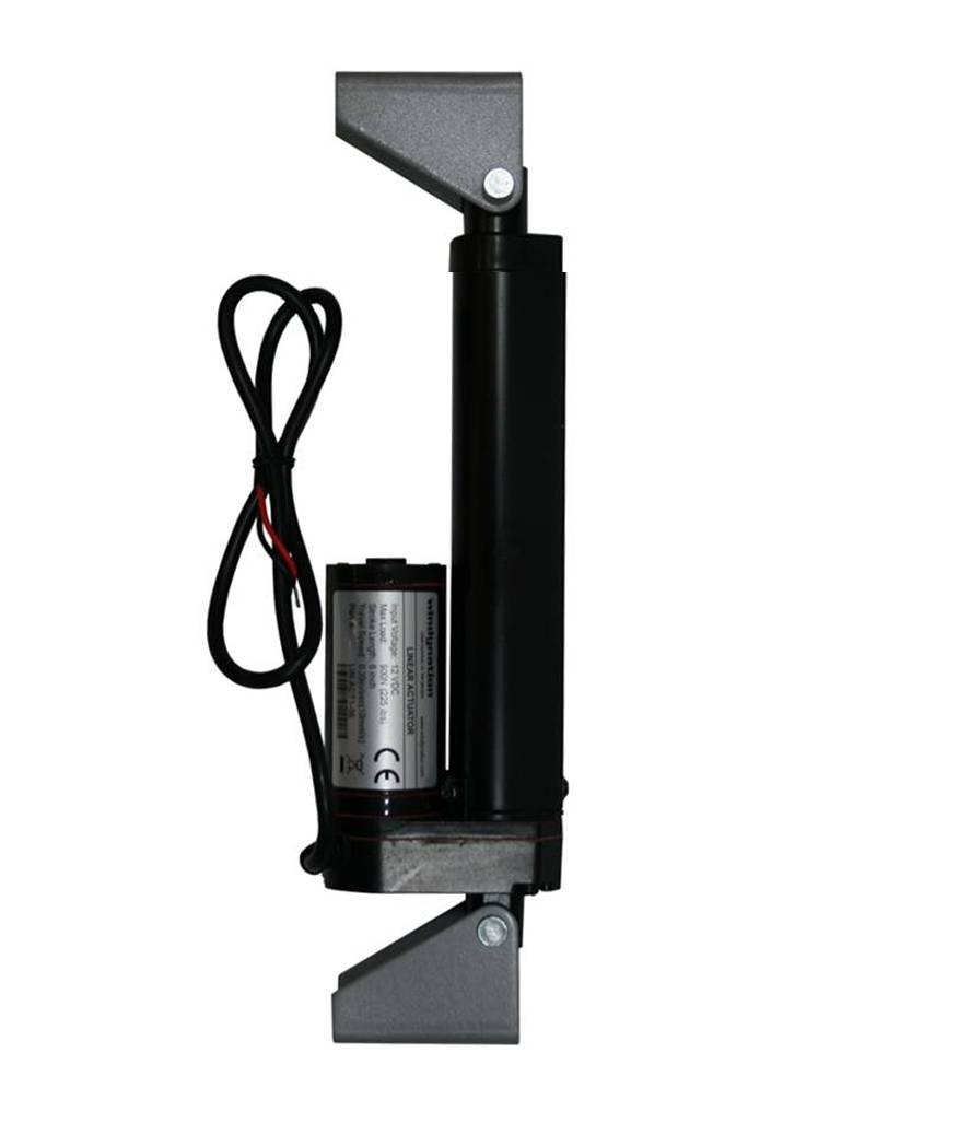 """WindyNation 12 Inch 12/"""" Stroke Linear Actuator 12 Volt 12V 225 Pounds lbs Up"""