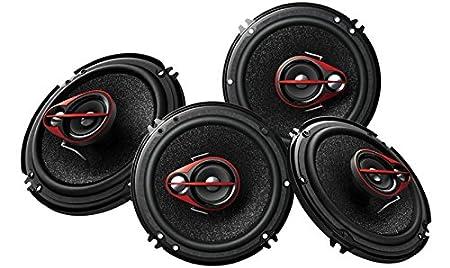 Pioneer TS-R1651D Coaxial Speaker (Black)