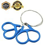 Meanhoo Outdoor Survival Wire Saw Emergency Fretsaw Camping Hunting Hiking Scroll Cutter Steel Ring Tool