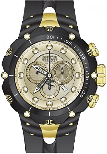 Invicta Men's 80480 Venom Quartz Chronograph Champagne Dial Watch [Watch] Inv...