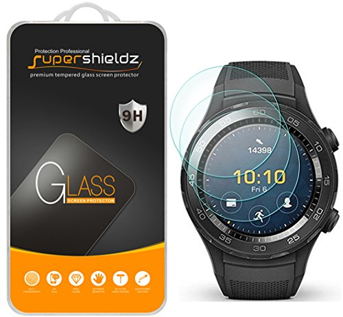 Supershieldz for Huawei Watch 2 Classic Tempered Glass Scre