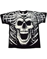 Psycho Skull Scream T-Shirt