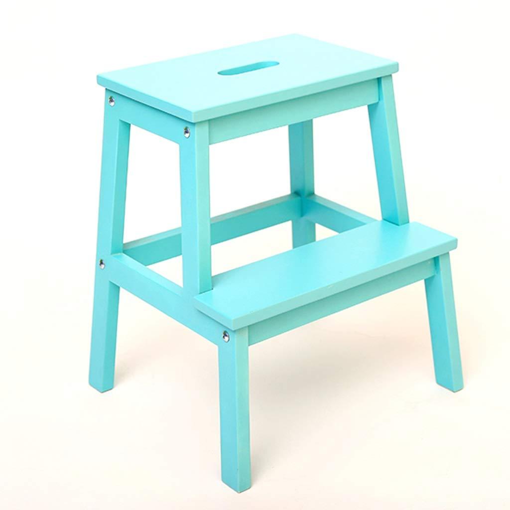 Excellent Lsxlsd Blue Wood Steps Childrens Wooden Bench Ladder Adult Unemploymentrelief Wooden Chair Designs For Living Room Unemploymentrelieforg