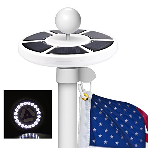 Best Solar Powered Flagpole Light - 8