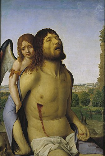 canvas-prints-of-oil-painting-messina-antonello-de-dead-christ-held-up-by-an-angel-1475-76-20-x-30-i