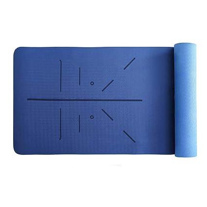 Estera Yoga TPE Antideslizante Texturizado colchoneta ...