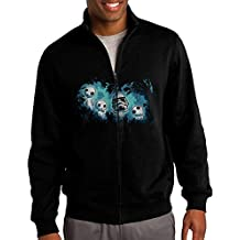 Men Aftermath Zip-up 80s Pullover With Pocket