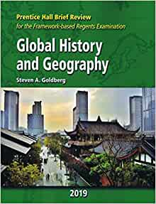 2020 Prentice Hall Brief Review New York Global History and Geography