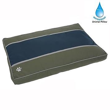 A prueba de agua para mascotas Almohada Cama para Perros (verde) - Colchón para perros: Amazon.es: Hogar