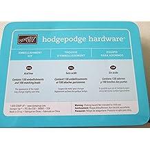 Stampin Up - Hodgepodge Hardware - Embellishment Kit - Antique Brass