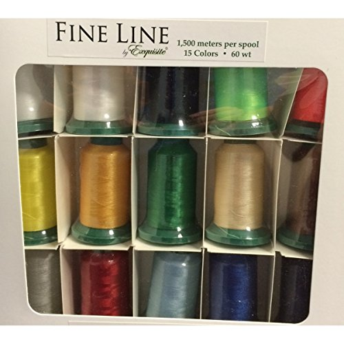 Exquisite Fine Line Embroidery Thread Set by Exquisite
