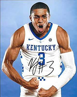 Autographed Keldon Johnson 8x10 University of Kentucky Photo