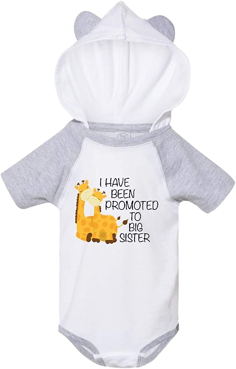 inktastic I Have Been Promoted to Big Sister Infant Creeper