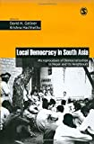 Local Democracy in South Asia 9780761936503