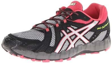 ASICS Women's Gel-Fuji Trainer 3 Trail Running Shoe,Aluminium/Lightning/Rouge,12 M US