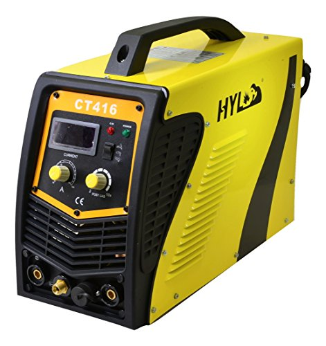 HYL CT416 TIG Welder + Stick Welder + Plasma Cutter All in one - 2YR USA WARRANTY WITH USA BASED PARTS AND SERVICE … by HYL