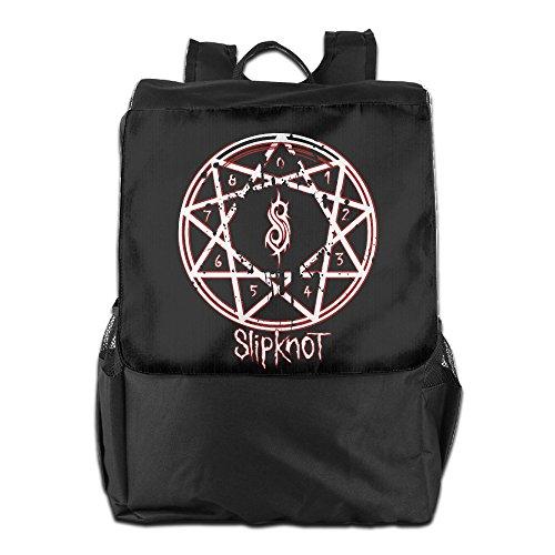 HALEIND Music Slipknot Logo Casual Fashion Backpack Shoulder Bag (Simboli Di Halloween)