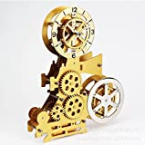 CLG-FLY The Movie Projector Gear Clock Simple Home Furnishing Office Desktop Clock Decor B- Inch