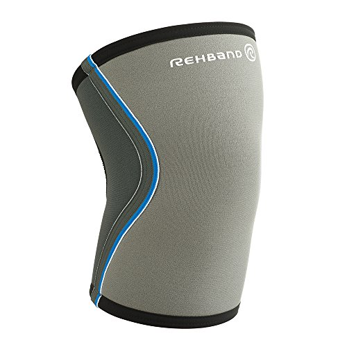 Rehband Core Line Knee Support 7751 5mm - Medium - Gray - 1