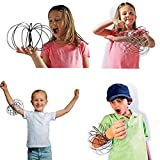 Flow Ring Kinetic Spring Toy, 3D Spinner Ring Arm