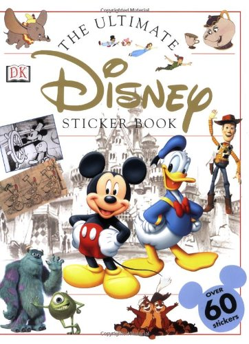 Disney With Toddlers (Disney: Ultimate Sticker Book (Ultimate Sticker Books))