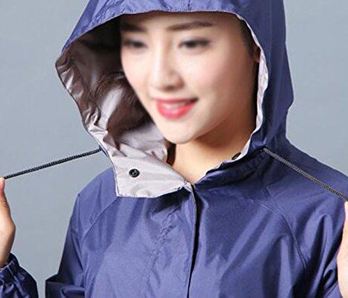 Lungo Adulto Moda Antivento giacca Uomo Poncho A colore Donna Trekking Da Impermeabile Impermeabile Xjlg A Ciclismo Tuta wBUxtY8qn