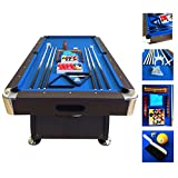 Carmelli NG Foot Pool Table Table Tennis Best Price Deal - Carmelli pool table