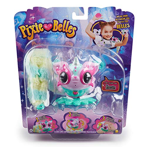 Pixie Belles - Interactive Enchanted Animal Toy, Rosie (Pink)