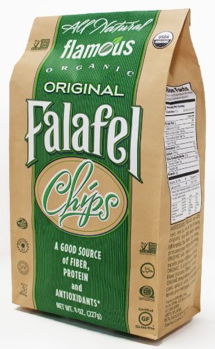 Falafel Spice (Flamous Organic Falafel Chips, Original, 8 Ounce Packages (Pack of 4))