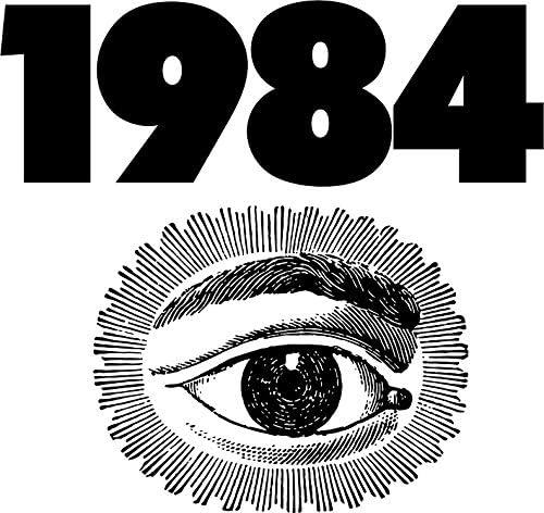 1984 Vinyl Decal Bumper Wall Laptop Window Sticker 5