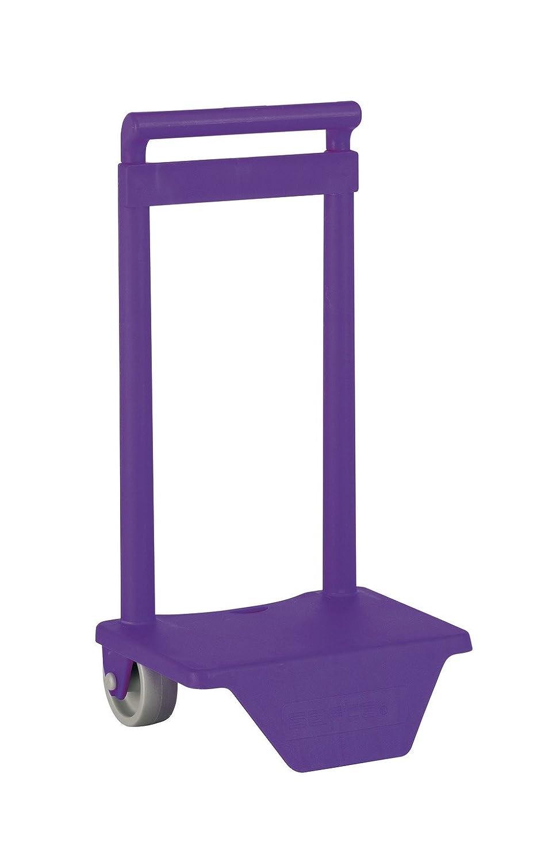 l/éger Pliable Safta Trolley pour Les Sacs /à Dos d/école r/ésistant avec poign/ée extractible et Roues