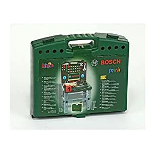 Amazon.com: Theo Klein Bosch Toy Tool Shop-Green: Toys & Games