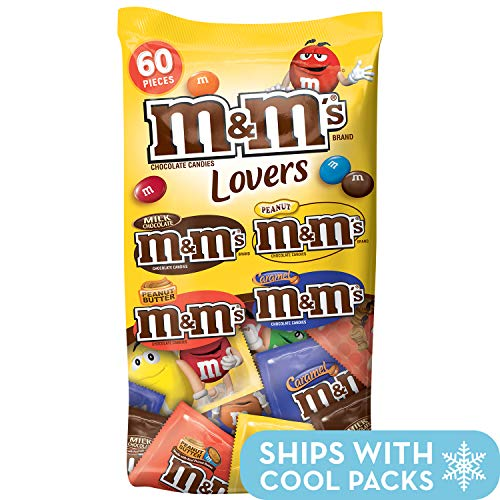 M&M'S Candy Fun Size Variety Mix 33.08-Ounce 60-Piece Bag -