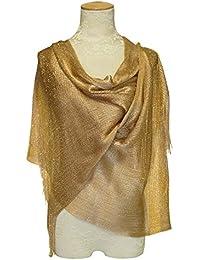 Gold Metallic Shawl