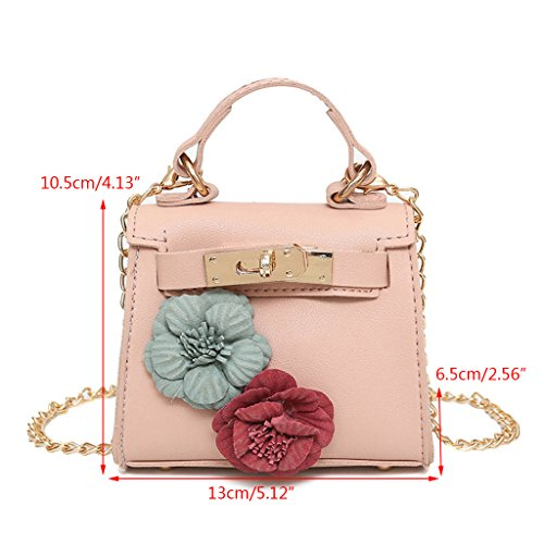 W3TT600238 As Shwon Medium femme pour Wanfor Rose Sac Picture bandoulière SwPqPaU