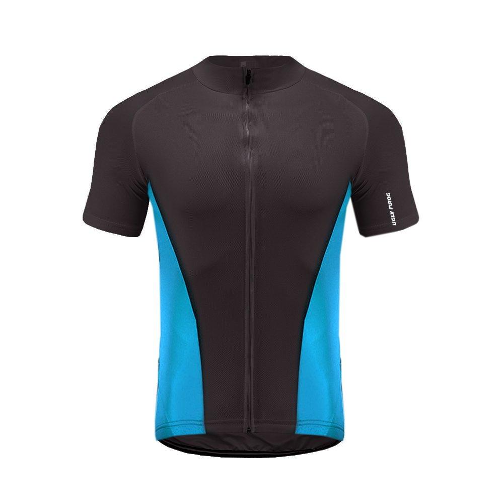 Uglyfrog Sportern 3 StripesアウトドアSportwear Short Sleeve Cycling Jerseyサイクリング衣類バイク着用 B074DF1MWH  Z 27 X-Small