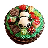 Best Contact Lens - Panda Cake Contact Lenses Case Portable Mirror Cosmetic Review