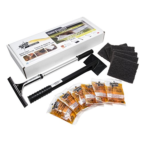 - 3M Grill, Griddle and Fryer Cleaners Scotch-Brite Quick Clean Griddle System Starter Kit