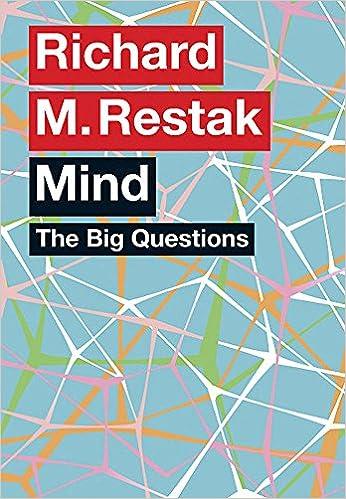 The Big Questions: Mind: Amazon co uk: Richard M  Restak