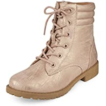 The Children's Place Kids' Combat Fashion Boot