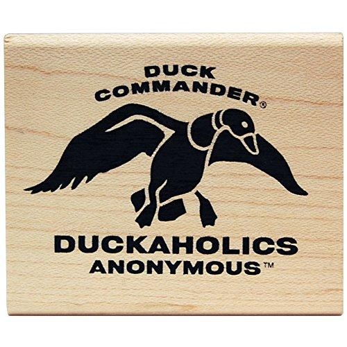 KellyCraft Innovations dc-50077 Duck Commander Duckaholics Anonymous Holz Halterung Stempel B00P28EFBK | Ausreichende Versorgung