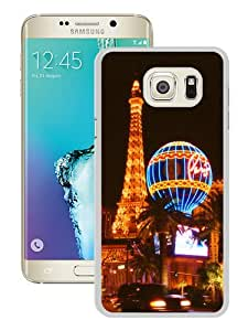 Popular Samsung Galaxy Note 5 Edge Case ,Fashionable And Unique Designed Case With Las Vegas Night view White Samsung Galaxy Note 5 Edge Cover High Quality Phone Case