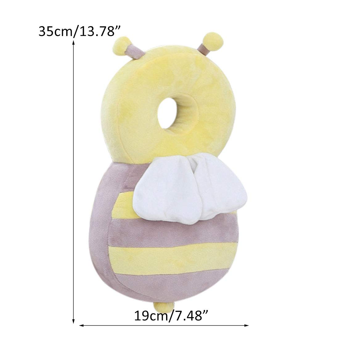 Bverionant Soft Baby Head Protection Pad Adjustable Safety Pads Toddlers Protective Products #1