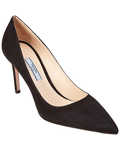 sold worldwide incredible prices outlet Amazon.com | Prada 85 Suede Pointy-Toe Pump, 39.5, Black | Pumps