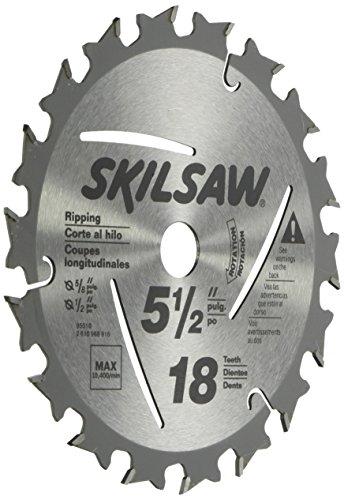SKIL 95010 18-Tooth Circular Saw Blade, (Combination Circular Saw)