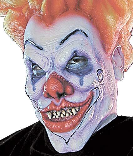(Woochie by Cinema Secrets Evil Clown Foam Prosthetics, Multi, One)