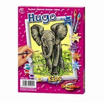 Breimeir Malen Nach Zahlen Elefant Hugo Amazonde Spielzeug