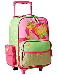 Stephen Joseph girls little girls' rolling luggage