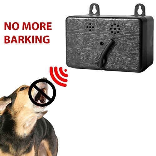 Petsonik Mini Bark Control Device | Outdoor Anti Barking Deterrent | Training Tool | Indoor Stop Barking Box | Safe for All Size Dogs | Bark Stopper And Eliminator up to 50 Feet Range Controller by Petsonik
