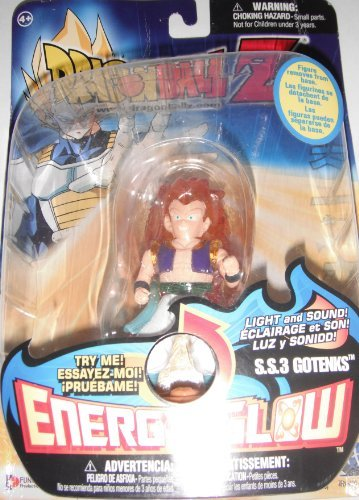 Dragonball Z Energy Glow S.s. 3 Gotenks Action Figure